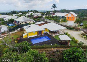 Caribois - Villa Sainte Rose - Prise de vue par drone en Guadeloupe - Aerotropix