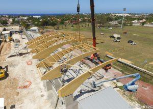 Tribunes du Moule - G3C - prise de vue par drone en Guadeloupe - Aerotropix
