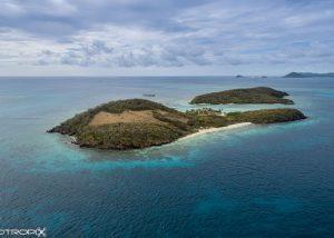 Tobago Cays - Grenadines - Prise de vue par drone