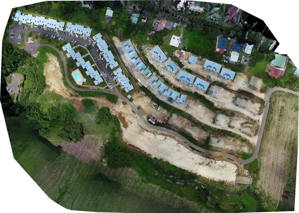 Chantier Guadeloupe - Orthophotographie par drone en Guadeloupe - Aerotropix