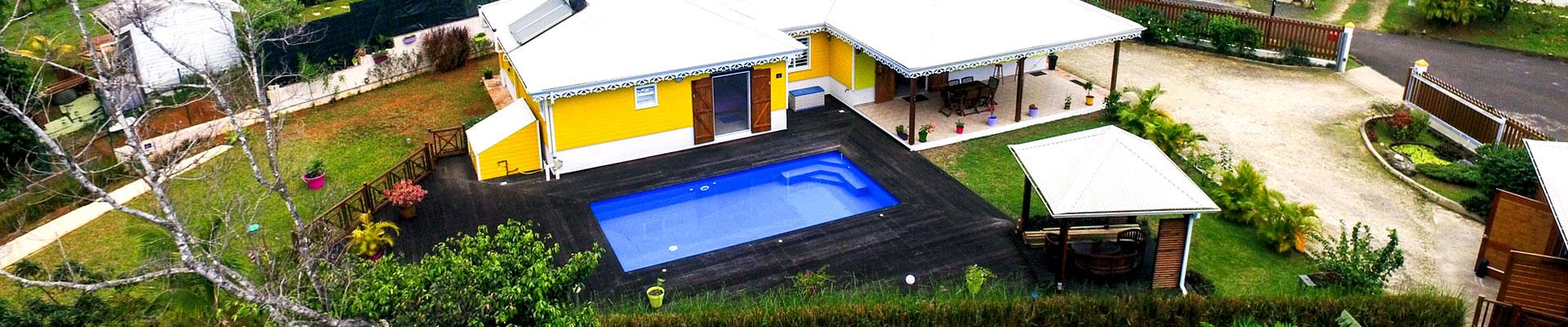 photo drone maison guadeloupe